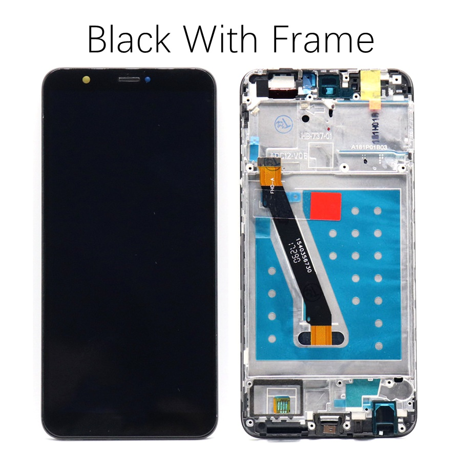 HTB1HUZljBjTBKNjSZFNq6ysFXXaH For Huawei P Smart LCD Display Touch Screen Digitizer Assembly For Huawei P Smart LCD With Frame FIG LX1 L21 L22 Screen Replace