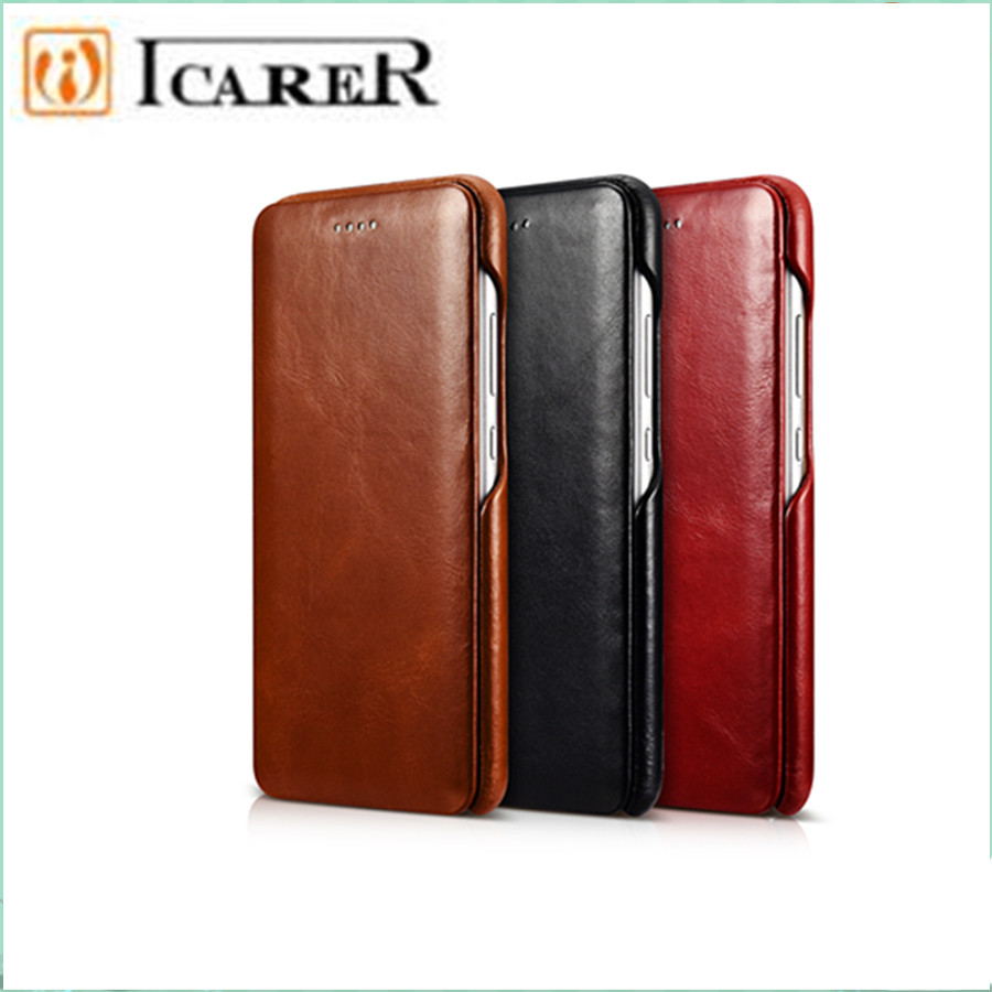 Vintage Genuine Leather Original Mobile Phone Cases Apple Computer Circuit Board Clocks Craziest Gadgets Accessories For Huawei P10 Full Edge Closed Flip Case Cover