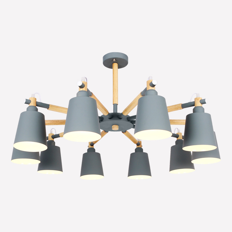 Modern iron pendant lights for living room bedroom dining room wood indoor home pendant lamp E27 suspension lighting fixturesModern iron pendant lights for living room bedroom dining room wood indoor home pendant lamp E27 suspension lighting fixtures