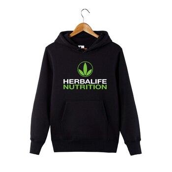 Herbalife nutrition Printed Hoodie Men Women Green Logo Herbalife Graphic Hoodie Sweatershirt 1