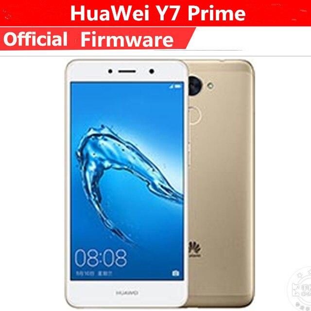 International ROM HUAWEI Y7 Prime 3/4GB RAM 32/64GB ROM 5 5