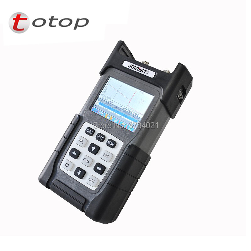 Handheld Optical Fiber Ranger JW3302A OTDR Principle Tester Meter 32/32db Optical Time-domain Reflectometer