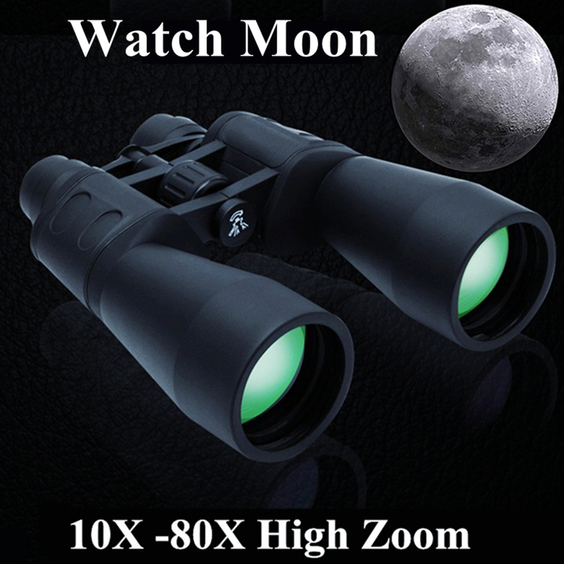 Powerful High Quality Hd Wide-angle Central Zoom Portable Lll Night Vision Waterproof Zoom Binoculars Telescope Not Infrared 8x magnification high quality central zoom bak4 low light night vision binoculars telescope 8x42