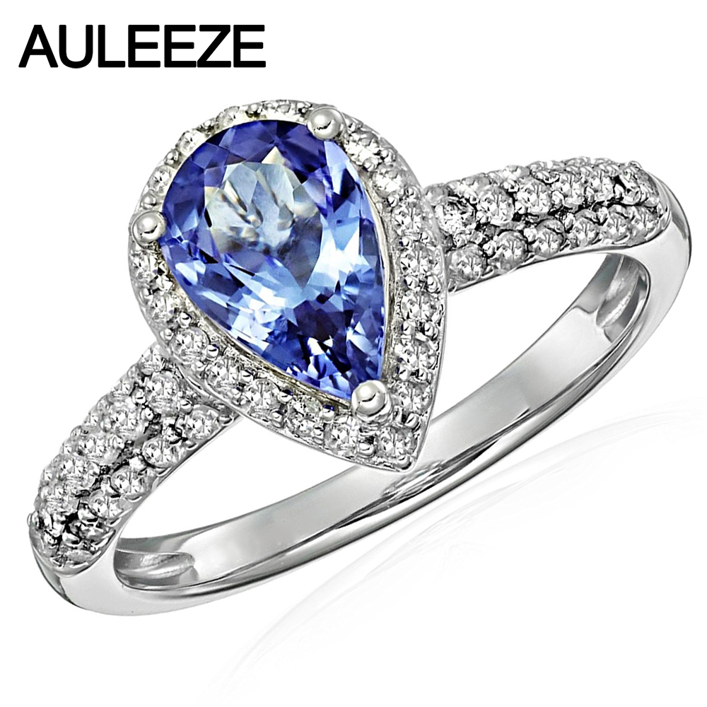 white ring eternity designer product image and tanzanite diamond gold real boutique