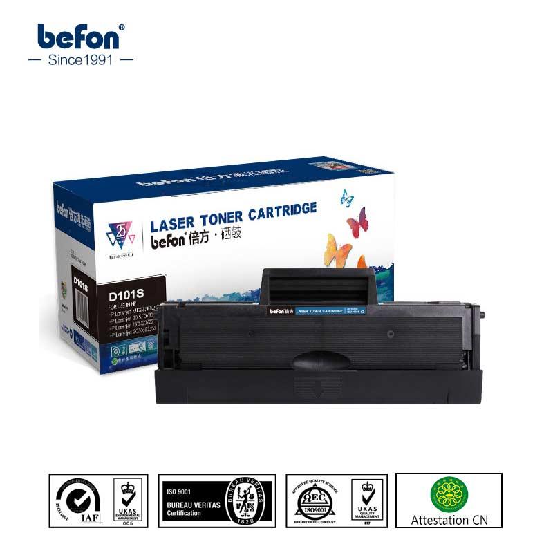 Befon D101 d101s mlt 101 cartucho de toner Compatível para Samsung MLT-D101S ML-2165 2160 2166 W SCX 3400 3401 3405F 3405FW 3407
