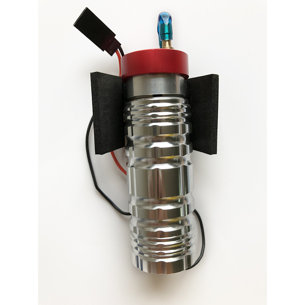 купить Radio Control CNC Metal Machined Electronic Fuel Pump For Rc Gasoline And Nitro Engine Airplane по цене 2183.4 рублей