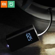 Original Xiaomi Mijia สมาร์ทดิจิตอลยางการตรวจจับความดัน Inflator ปั๊มสำหรับจักรยานรถจักรยานยนต์รถฟุตบอล