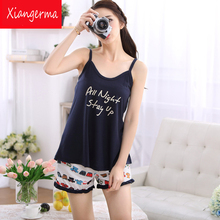 bathtub gown and nightgown Brand Homewear Women Casual Pajama units Ladies Sleepwear go well with Female Cotton tops + Pants free transport