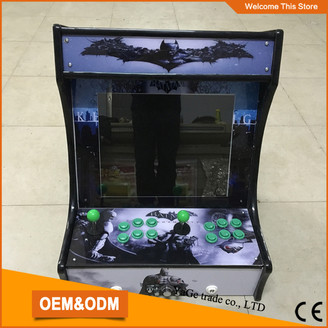 Cheap china supplier Family Professional classic wooden mini simulator arcade desktop video game console machines
