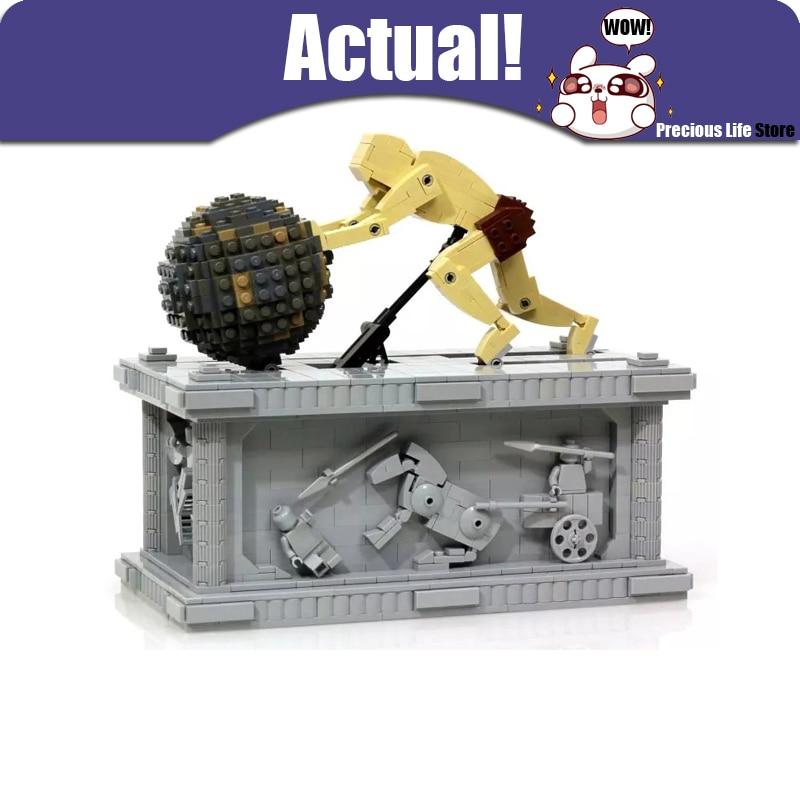 купить LEPIN 23017 Sisyphus Dynamics Scuture Technic Model Building Blocks Bricks Toys For Boy oyuncak 1462pcs Compatible legoINGly MOC по цене 4321.24 рублей