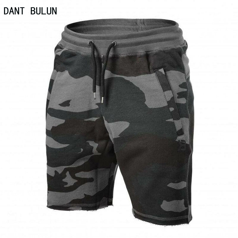 Mens camouflage Shorts 2017 Fashion Summer Men Shorts Cotton Casual Mens Military Style Army Tactical Long Cargo Short Male