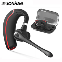 Wireless Bluetooth Headset Stereo Headphone, HD Microphone Noise Reduction Business Bluetooth Earpone bluetooth headphone wireless headset with noise reduction microphone