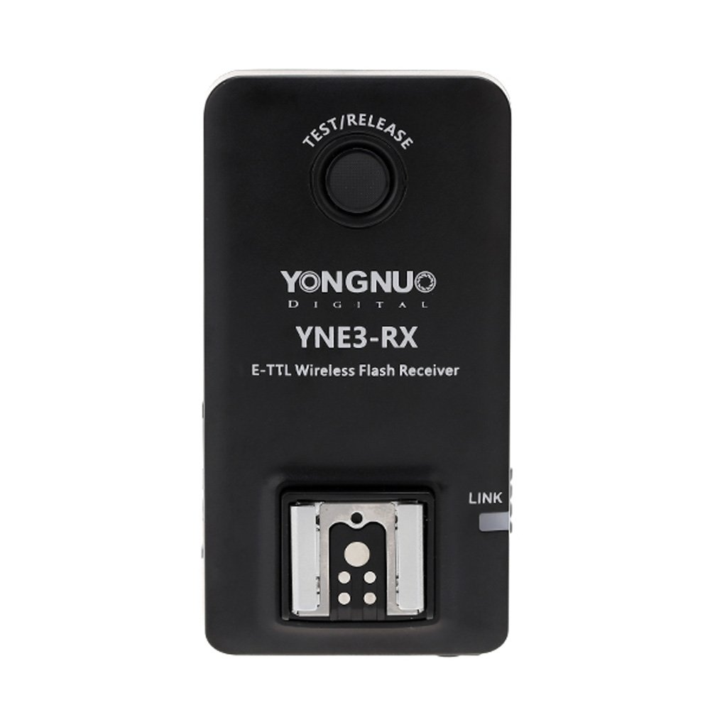 YONGNUO E-TTL YNE3-RX Wireless Remote Flash Receiver for YN-E3-RT/YN600EX-RT/ST-E3-RT/600EX-RT yongnuo yn e3 rt ttl radio trigger speedlite transmitter as st e3 rt compatible with yongnuo yn600ex rt