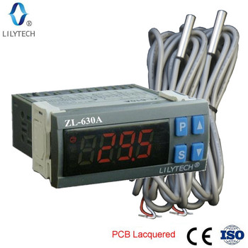 ZL-630A, like ETC-974, STC 9200, STC 9100, Thermostat Temperature, Thermostat for Cold Storage, Temperature controller, Lilytech