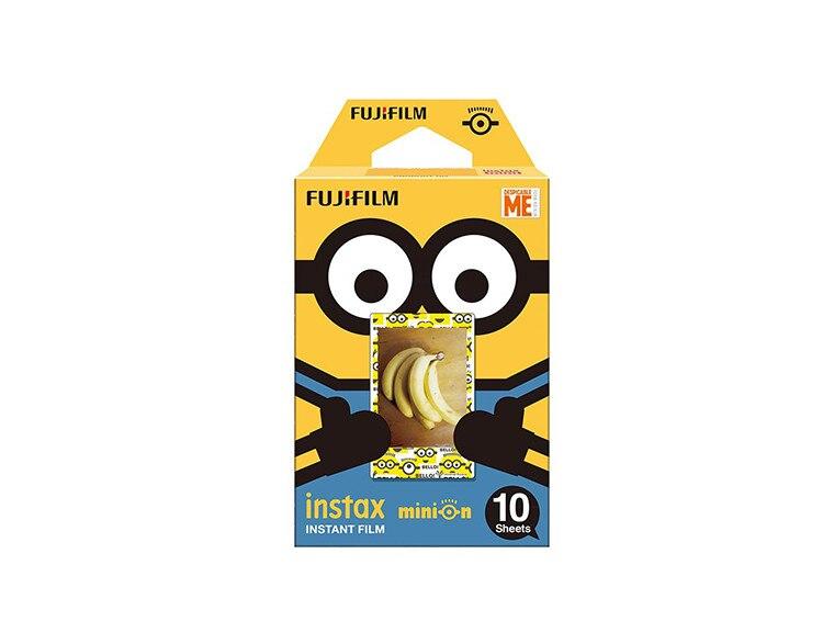 1 pack <font><b>Minions</b></font> <font><b>Banana</b></font> Fujifilm Instax Mini Film For Mini 8 7s 7 50s 50i 90 25 dw Share SP-1 Polaroid Instant Photo Camera