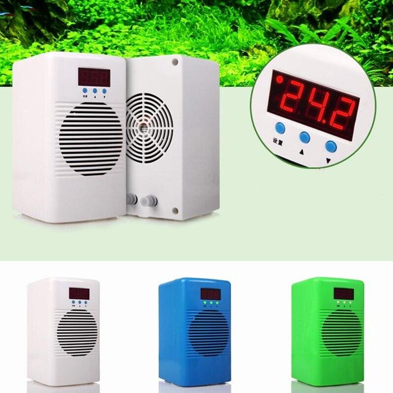Refroidisseur d'eau plus chaud Aquarium refroidisseur pour moins de 20L réservoir marin corail récif crevettes réservoir eau température conditionneur 110-240 V