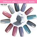 2 g/caja Polvo Del Clavo Del Brillo Del Arco Iris de Láser Holográfico Pigmento Pigmentos de Cromo Holo Extremidad Del Clavo de la Manicura Del Polvo de Uñas de Arte Decoración