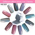 2g/Box Holographic Laser Nail Glitter Powder Rainbow Pigment Manicure Chrome Pigments Holo Nail Tip Powder Nail Art Decoration