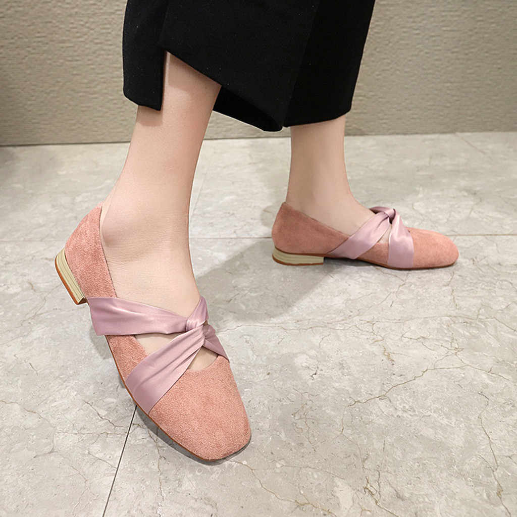 Frauen Slip Auf Müßiggänger platz kappe Atmungs Ballett Tänzerin Wohnungen Und Fishion dame Elegante schuhe
