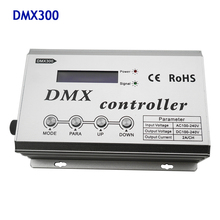 купить DMX300 1320W 3CH x 2A RGB DMX LED Decoder Console Controller for High voltage RGB Led Neon Strip Light Tape AC110V 220V дешево