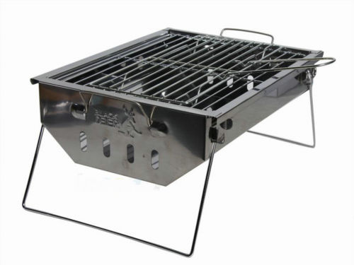 ФОТО BD-910 Foldable Folding BBQ Barbecue Portable Camping Outdoor Garden Grill