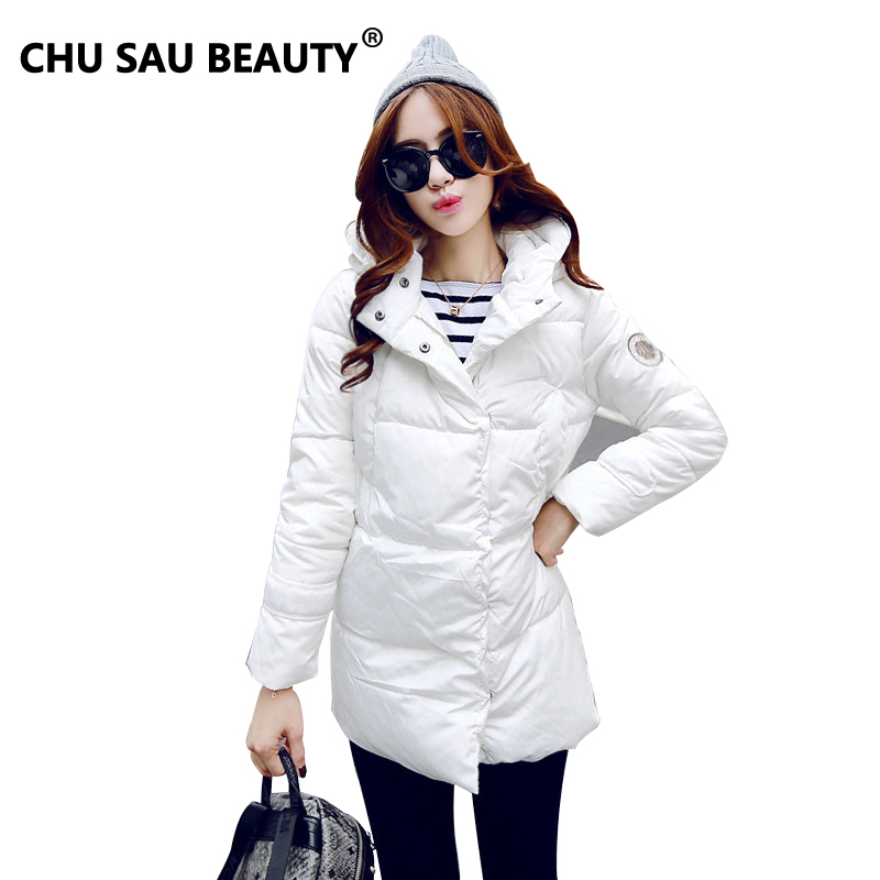 2016 winter jacket female duck down coat in the 60 s 1950 s long warm turtle
