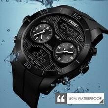 SKMEI Sports Outdoor Watch Men 50m Waterproof LED Electronic