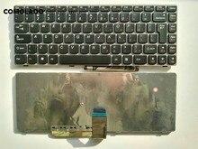 Клавиатура с английской раскладкой для Lenovo G480 G480A G485 G485A B480 B485 Z380 Z385 Z480 Z485