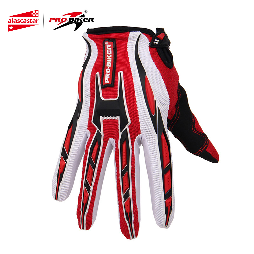 цена на PRO-BIKER Motorcycle Gloves Motorbike Racing Cycling Full Finger Gloves Bicycle MTB Dirt Bike Motocross Off-Road Riding Gloves