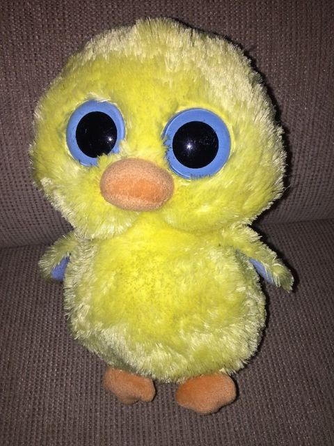 ad4ca154fd8 Ty Beanie Boos Goldie Yellow Duck Plush 14cm Tall Med Boo Big Eyes Retired  Euc