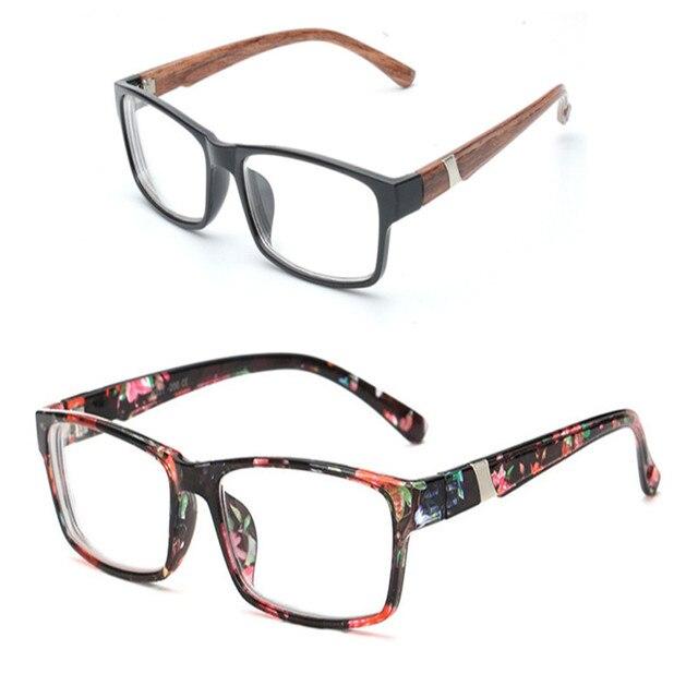 055528b8e3 Diseño Elegante de Moda de Calidad Gafas de lectura de Madera mirada  Hombres y Mujeres Gafas