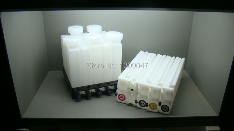 Bulk ink system with chip for Ep Surecolor T3000 T5000 T7000 Ciss ink system for T3000 T5000 T7000 wide format printer