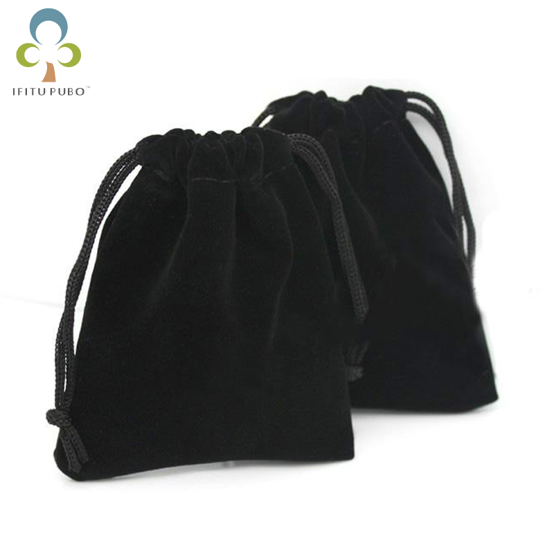 10 шт., бархатные сумки для ювелирных изделий, 9 х12 см