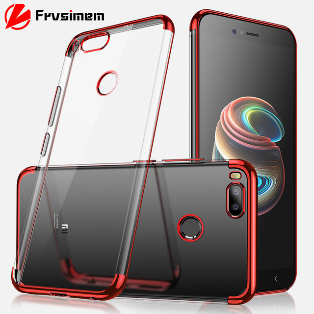 sports shoes b9444 5bf87 US $1.35 20% OFF|Silicon Soft Clear Case for Xiaomi Mi A2 Lite 6X 5X Mi A1  Phone Cover MiA1 MiA2 Lite Mi6X Women Fashion Transparent Clear TPU-in ...
