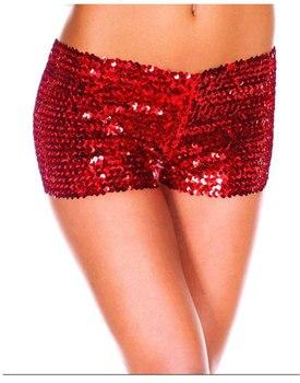 7 Kolory S-2XL Kobiety Sexy Cekiny Szorty Obniżoną Talią Plus rozmiar Szczupła Krótkie Spodnie 2017 Wiosna Summer Party Eleganckie Skinny szorty