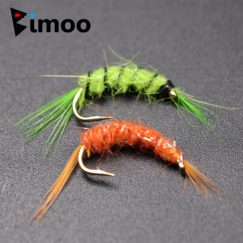 Buffet Fly Us 3 05 32 Off Bimoo 10pcs 14 Scud Cray Orange Green Big Tailwater Trout Fishing Shrimp Buffet Fly Fishing Bait In Fishing Lures From Sports