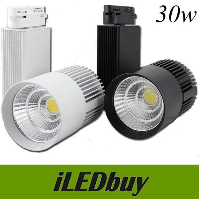 LED luz de la pista 20 W 30 W COB luces del techo para el colgante ...