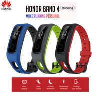 Originale Huawei Honor Fascia 4 Corsa e Jogging Versione di Scarpe-Fibbia Impatto Inseguitore di Fitness Edizione Intelligente 50M Impermeabile Sonno Snap monitor