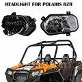 Polaris RZR 800 Headlight Polaris RZR XP 900 Headlamp Polaris RZR 570 Headlights Polaris Ranger / Sportsman LED Headlight Kit