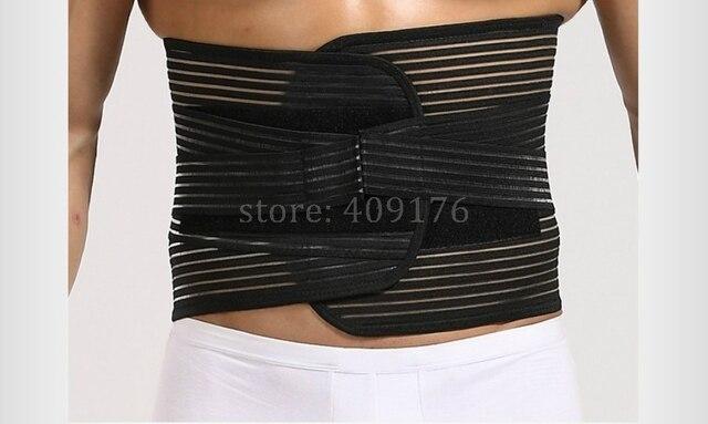 Sweat Girdle For Man Waist Trainer Belt PRAYGER Men Back Corrector Slimming Tummy Trimmer Waist Cinchers Shaper Belt 2