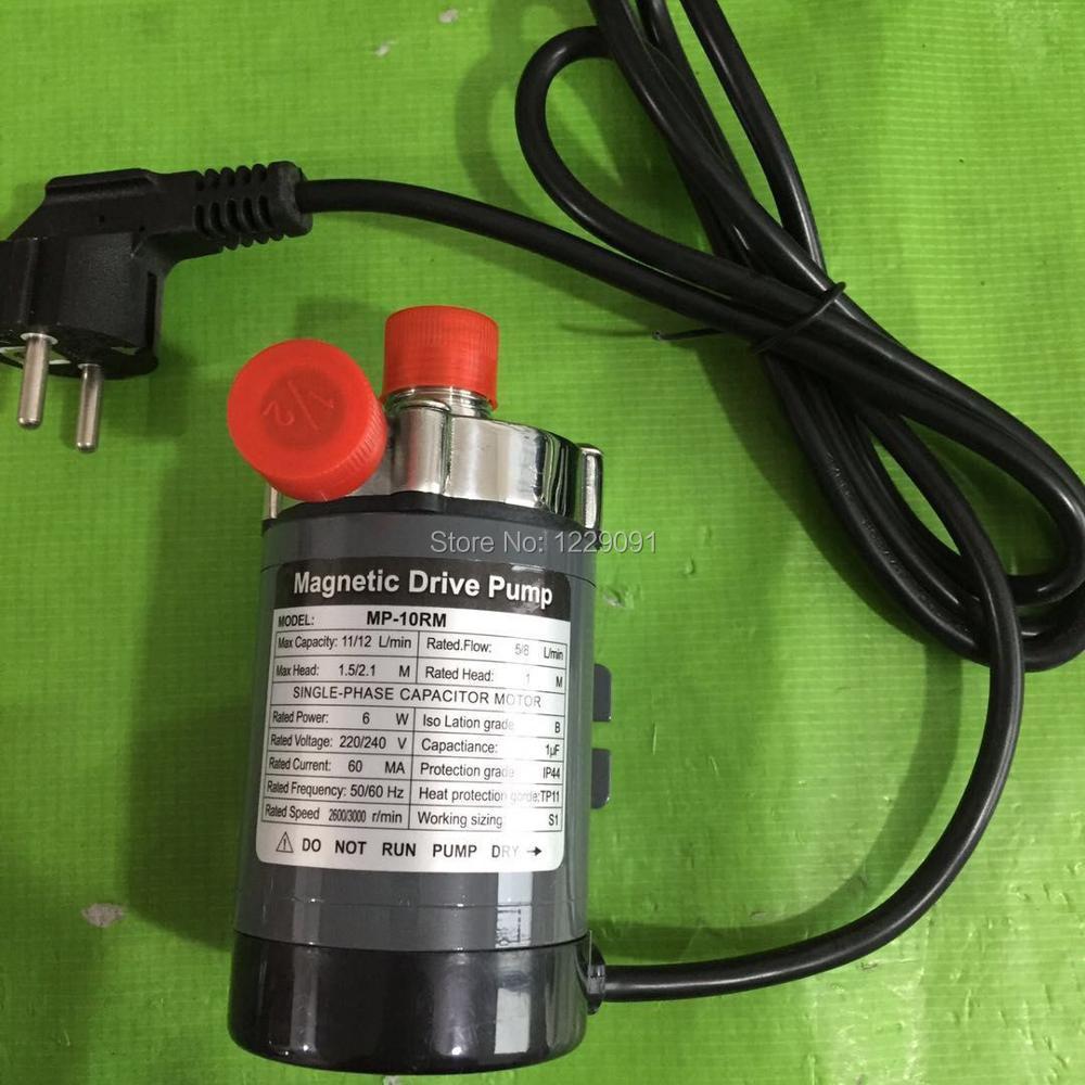 Нержавеющая сталь 304 головка Магнитный насос 10R пивной пивоваренный насос высокая температура сопротивление 140C пиво Магнитный Привод насос домашнего пивоварения - 6