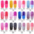 Lavander Temperature Changing Gel Color UV Gel Nail Polish 8ml Nail Gel LED UV Soak off Long Lasting Gel Polish