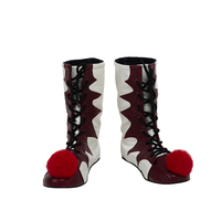 New Stephen King S It Pennywise Boots Halloween Cosplay Shoes Carnival Joker Boots Unisex Adult Clown