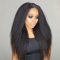 Kinky Straight Hair Brazilian Hair Weave Bundles Deal One Piece Natural Color Coarse Yaki Human Virgin Hair Extension Prosa