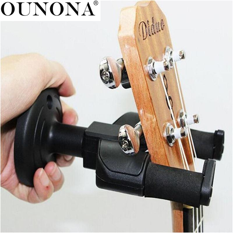 OUNONA Gitarre Wandhalter Halter Standplatz Rack Haken Für  E Gitarre/Akustische Gitarre/