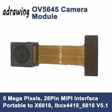 Ov5645 5-мегапиксельная Камера mipi CSI Интерфейс 26 Булавки Портативный к x6818 развитию