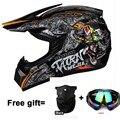 Envío gratis Top ABS casco de la motocicleta Casco Clásico casco de motocross downhill MTB DH bicicleta de carreras Motobiker moto casco