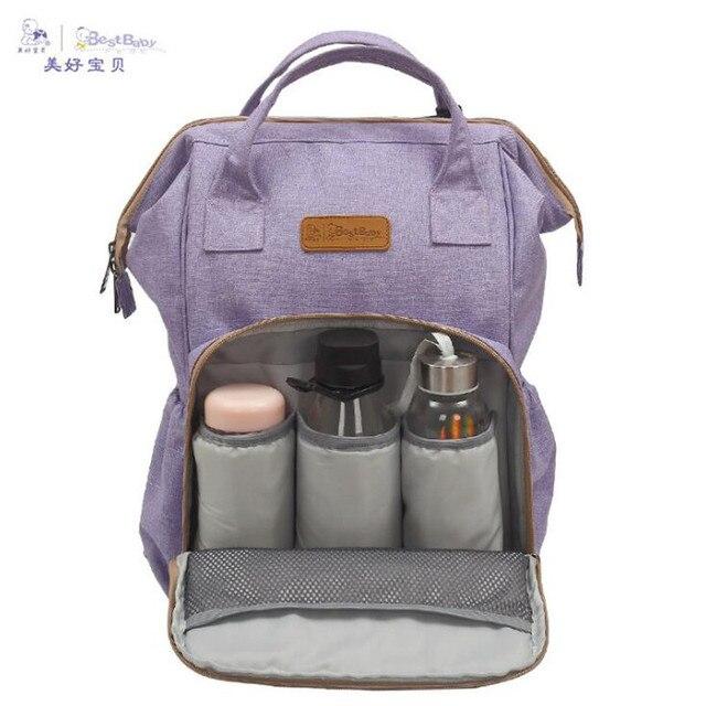 dad17dadd1 Fashion Maternity Mummy Nappy Bag Brand Large Capacity Baby Bag Travel  Backpack Design Nursing Diaper Bag Baby Care Drop shiping