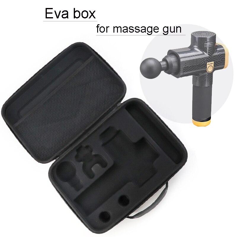 Box For Massage Gun Hypervolt/Phoenix/Tezewa Travel Bag Portable Case Durable Light Storge Case Bag Massager Is Not Included