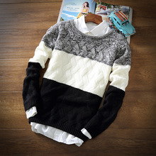 YG6174-1 Cheap wholesale 2017 new The man with thick warm sweater knit leisure render unlined upper garment